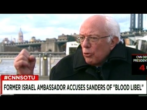 "Bernie Sanders ""You Can NOT Ignore The Needs Of The Palestinian People!"""