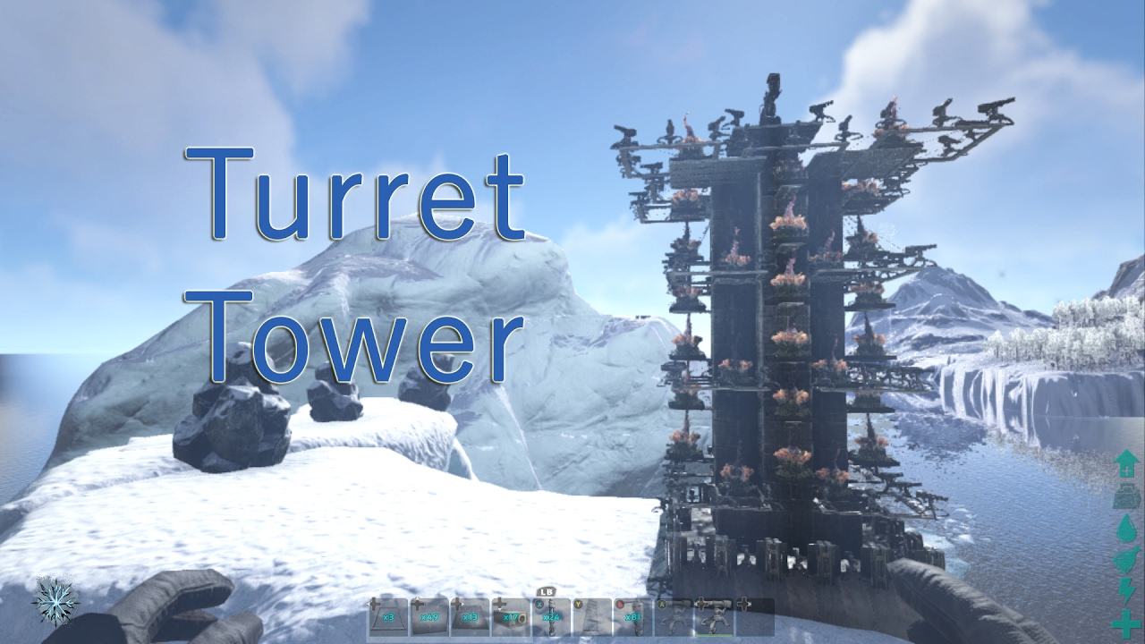 Turret Tower #01 - YouTube