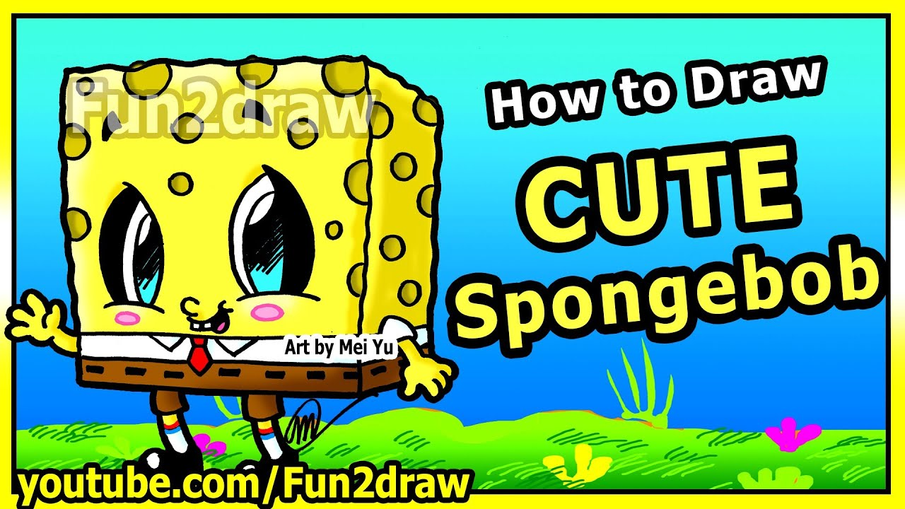 Learn To Draw Spongebob Step By Step Easy