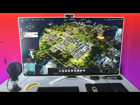 World's Biggest OLED Gaming Monitor - Alienware AW5520QF