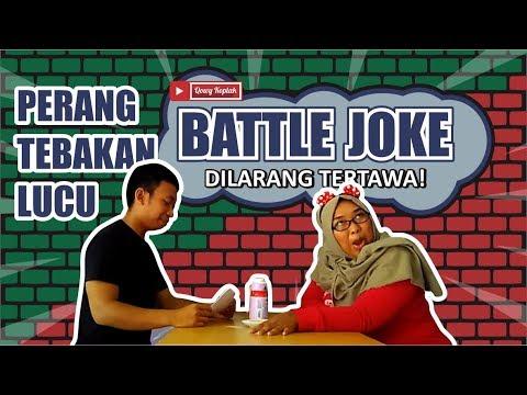 Game Battle Joke - DILARANG TERTAWA! - Tebak-tebakan lucu!