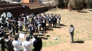 Banda Internacional Sideral de los Hnos Herrera - ensayo Cerrito de Huajsapata