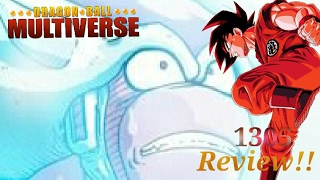 Dragon Ball Multiverse: Chapter 57 - U8 - The Tyrant Freeze Must Be Stopped! Page 1305 REVIEW!!!!