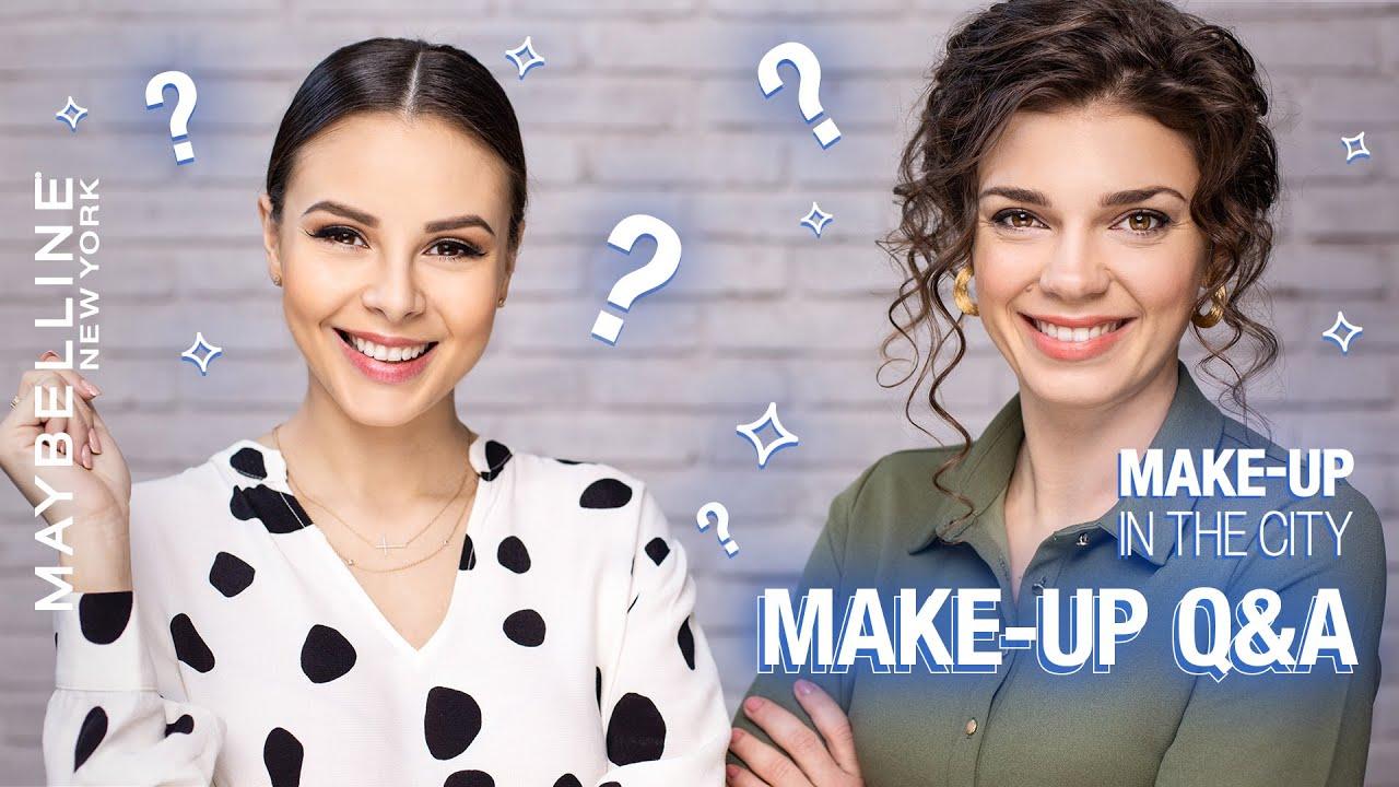 Otázky a odpovědi na téma make-up| Maybelline Make-up in the City S04 E06