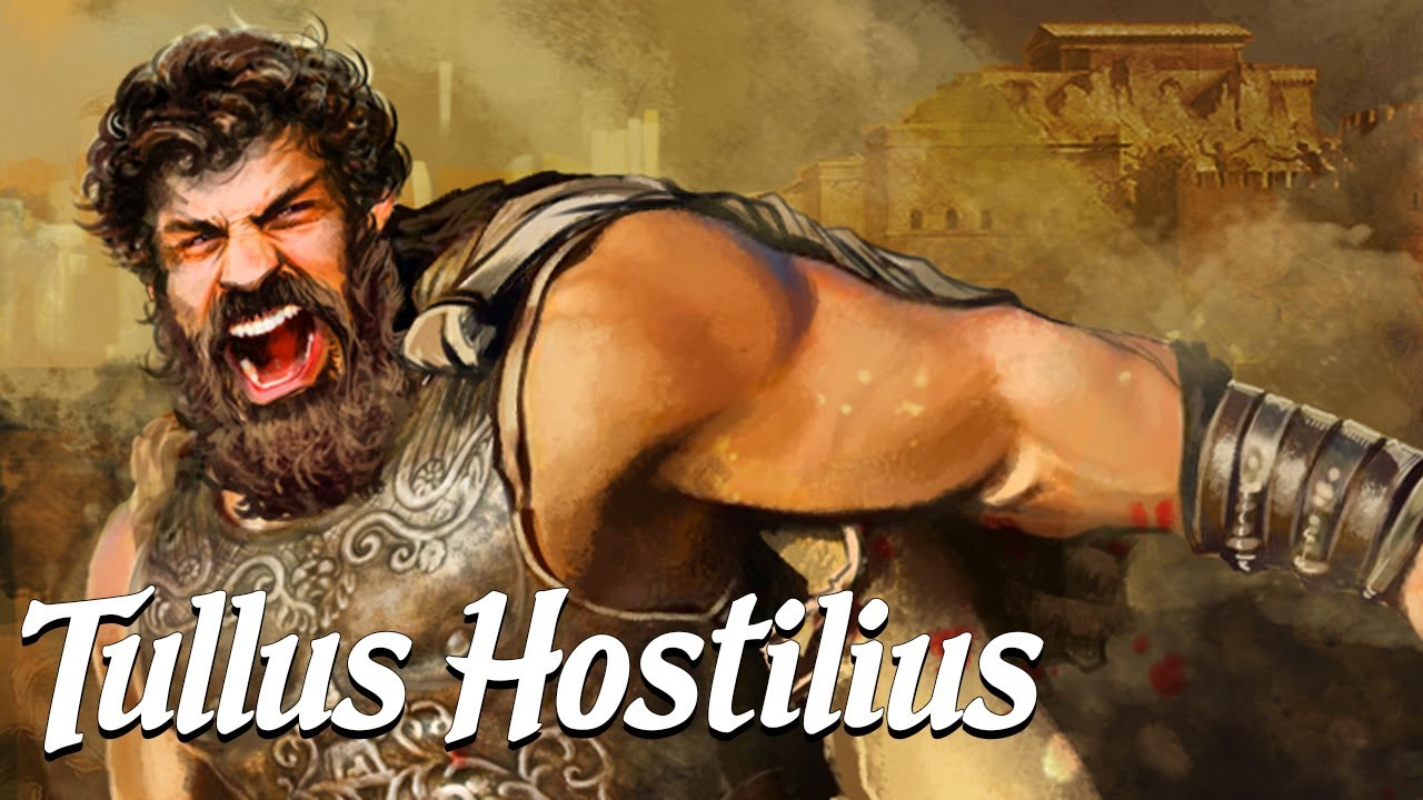 Tullus Hostilius: The War King (Ancient Rome Explained)