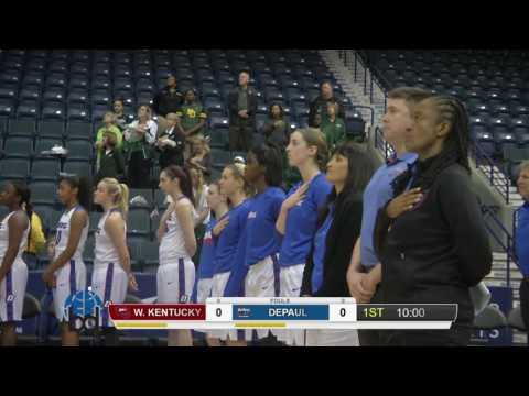 DePaul vs Western Kentucky - 2016 Gulf Coast Showcase