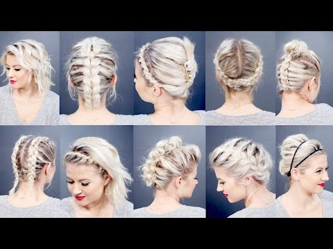 TOP 10 BEST SHORT HAIRSTYLES 2016 | Milabu
