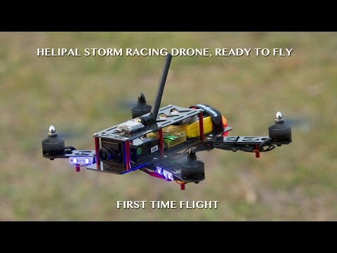 Storm Racing Drone First time flight