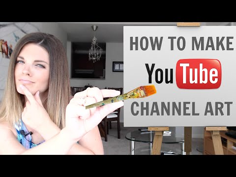 How To Make YouTube Channel Art - NO PHOTOSHOP! (2015)