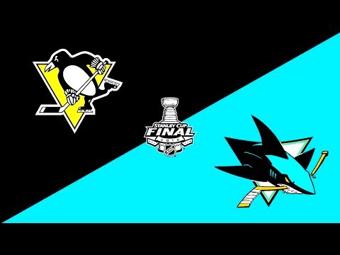 NHL 17 Stanley Cup Final Penguins vs Sharks Match #1