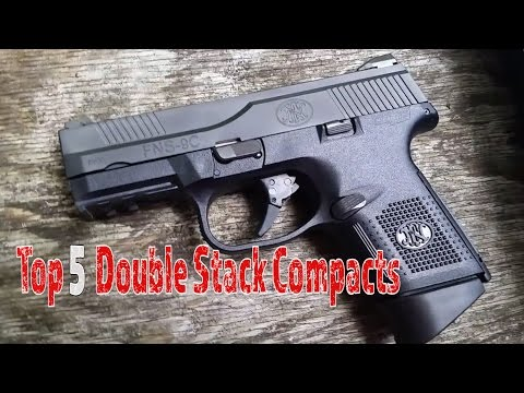 Top 5 Double Stack Compacts For Concealed Carry