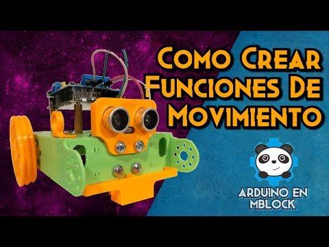 Movimiento con Motores DC en mClon