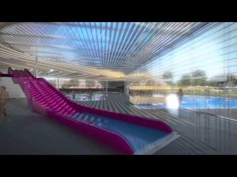 Présentation du futur centre aquatique de Douai (59)