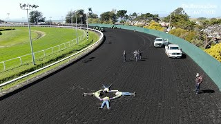 Protesters chain themselves together at Golden Gate Fields track in bid against horse racing