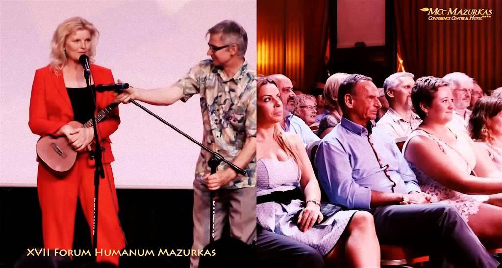 XVII Forum Humanum Mazurkas-Benefis Marka Majewskiego-Renata Zarębska 1