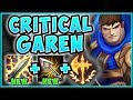 STOP PLAYING GAREN WRONG! NEW CRIT GAREN IS ACTUALLY LEGIT! GAREN TOP GAMEPLAY! - League of Legends