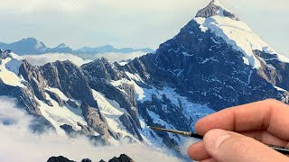 Painting a Mountain | Time Lapse | Episode 200