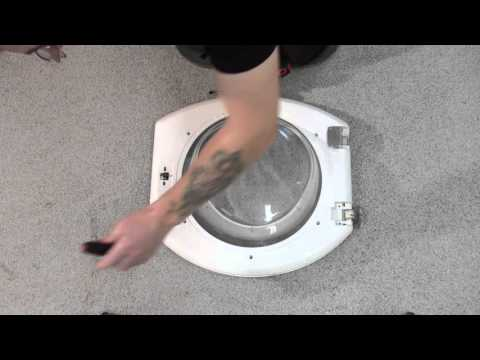 How To Replace The Door Handle On A Hotpoint Washing
