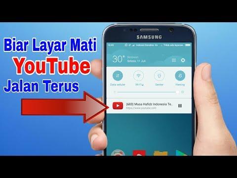 Cara Memutar Video Youtube Pada Backgroud Android Tanpa Aplikasi Tambahan
