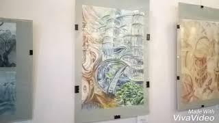 Харьков, галерея Бузок. Дарим миру добро.  Выставка Аллы Шляховой и её учеников.