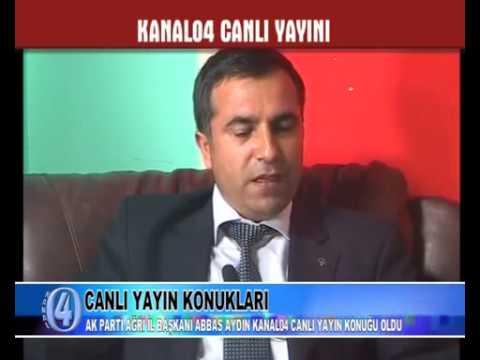 Ak Parti İl Başkanı Av.Abbas Aydın, Ağrı Yatırımlarını Değerlendirdi