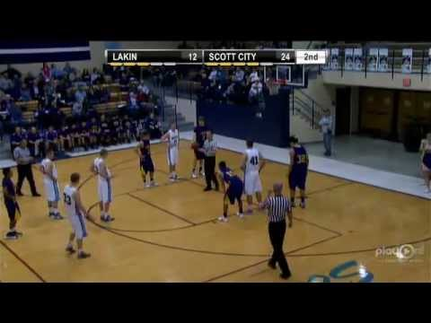 Boys Basketball- Scott City vs Lakin