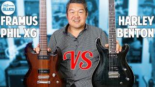 Framus Phil XG vs Harley Benton CST-24 P90 Pickups Comparison