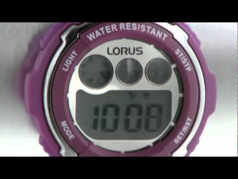Lorus R2379dx9 Ladies Watch Youtube
