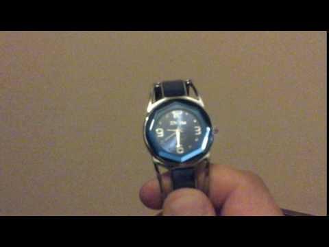 Xinhua 681 Bracelet Pattern Female Quartz Watch  -  NAVY BLUE