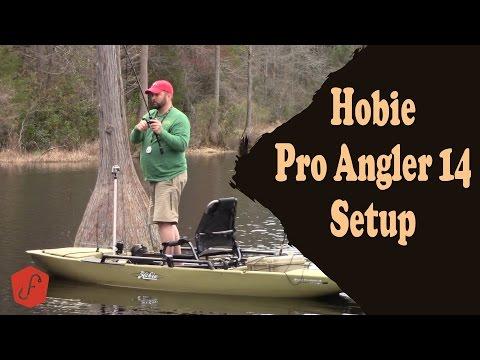 Hobie Pro Angler 14 Kayak Setup