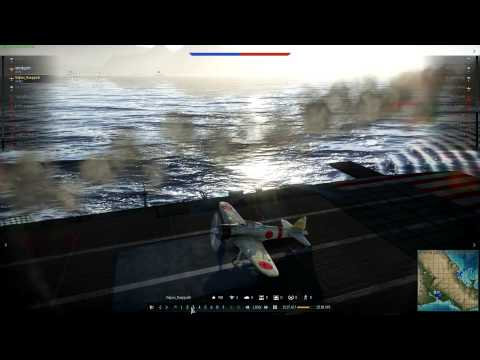 War Thunder Pearl Harbor Event A6M2 Gameplay