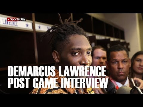 Demarcus Lawrence post game interview after huge win over the Jacksonville Jaguars