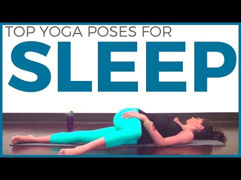 TOP 3 YOGA POSES FOR SLEEP | Bedtime Yoga