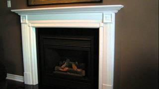 Oakville, Mississauga Custom Fireplace Mantels From Jencia Custom Cabinets & Mantels Inc.