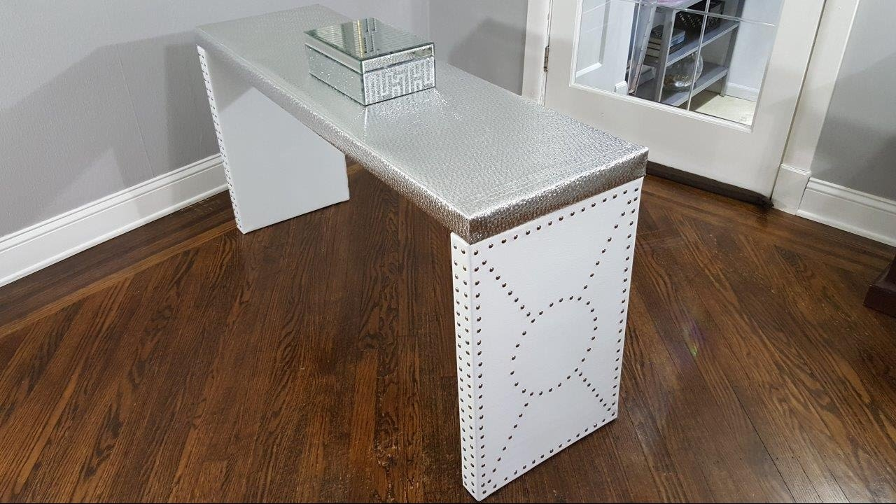 Table Luxe Ikea Console Table Luxe Upgrade Ikea Hack
