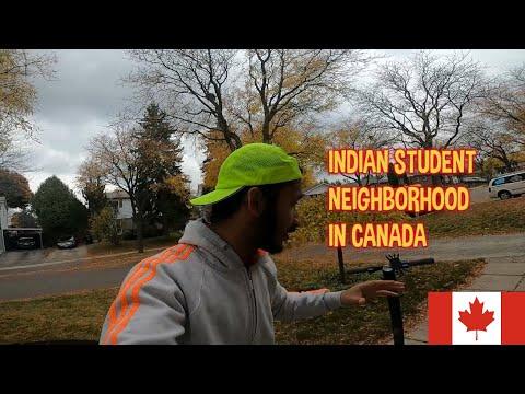 INDIAN STUDENT NEIGHBORHOOD IN CANADA | Indian In Canada