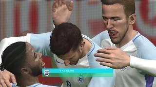 ENGLAND - BELGIUM PES 2018