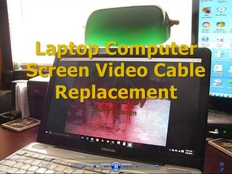 Laptop Screen Video Cable Replacement