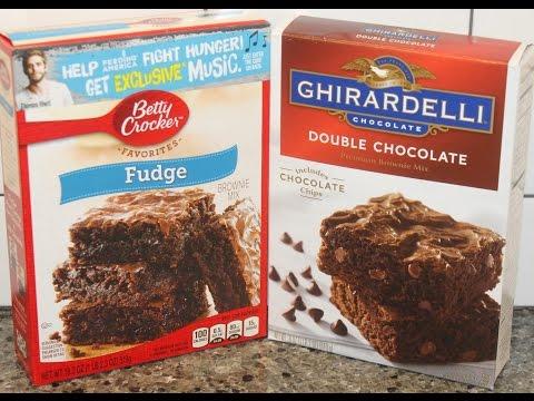 Betty Crocker vs Ghirardelli Brownies – Preparation & Blind Taste Test
