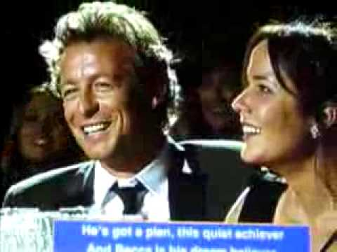 Give it up for Simon Baker