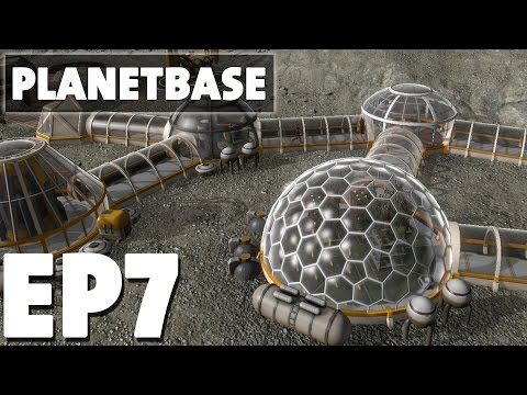 Let's Play Planetbase Episode 7 - Taking Action - Version 1.0.1