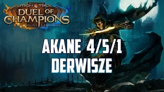 Might & Magic Duel of Champions - Akane 4/5/1 standard - Top Deck - Derwisze