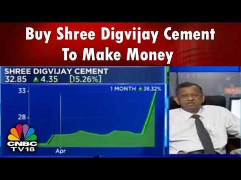 SP Tulsian: Buy Shree Digvijay Cement To Make Money || CNBC TV18