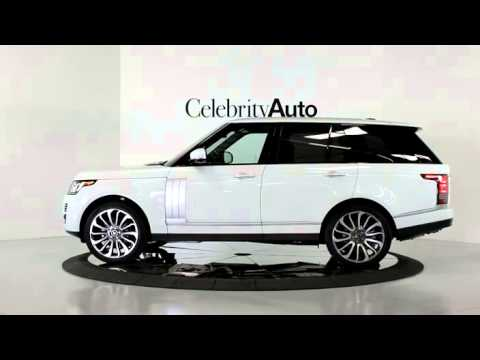 2014 Land Rover Range Rover Autobiography White Blk Youtube