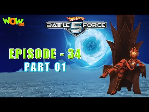 Motu Patlu presents Hot Wheels Battle Force 5 - Found and Lost - S2 E34.P1 - in Hindi