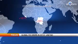 Global FDI drops 18% in 2012: UNCTAD