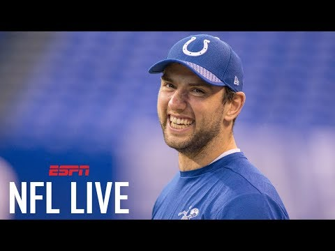 Andrew Luck is expected to be ready for Colts training camp   NFL Live   ESPN