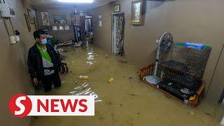 Flash floods hit parts of Melaka due to heavy rain
