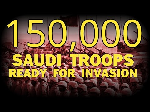 150,000 SAUDI TROOPS READY FOR INVASION