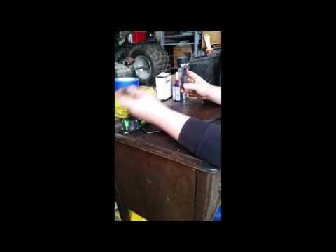 Suzuki ltz 400 fuel air mixture screw tool review.